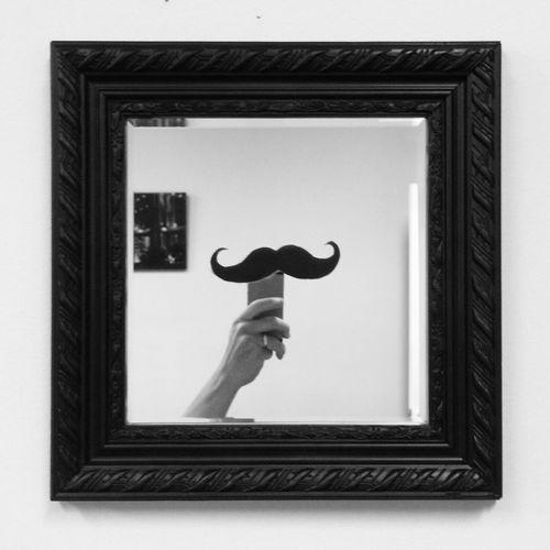 Mustache-mirror Imustacheyouaquestion DIY Thrifting