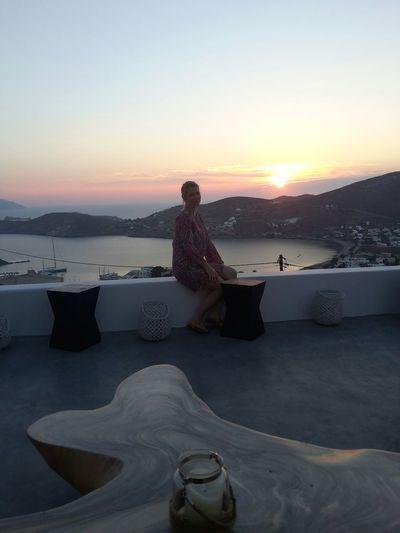 Ios Greece Ios Island Sunset Sunset_collection Summer2015 Cyclades Sun sun