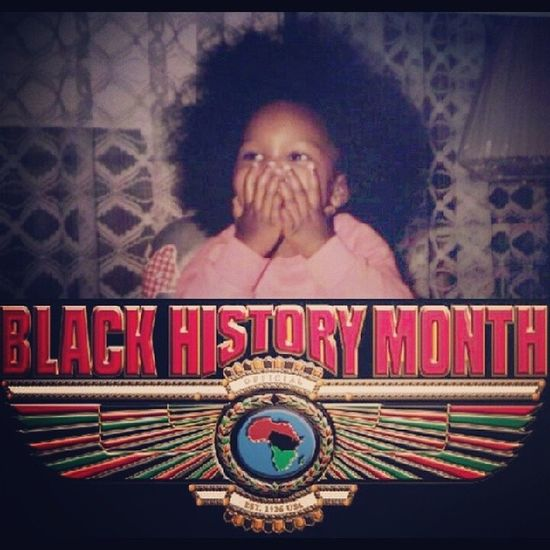 My parents made Black History '85!!! LOL Blackhistorymonth Afro AfroBaby Fro Germany 80sBaby