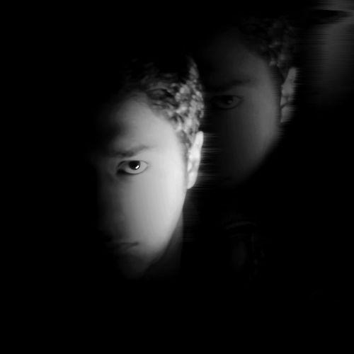 Blackandwhite Radiohead StreetSpirit FadeOut Portrait Moonlight Bnw B&W Portrait Faces Of EyeEm Creative Light And Shadow