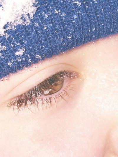 Close-up Human Body Part One Person Human Eye Beauty Eyesight Eyelash Day Boy My Son Eyem Best Shot Snow Covered Snowflake Wet Eyes Green Eye Eye4photography Samsungphotography Childhood The Portraitist - 2017 EyeEm Awards
