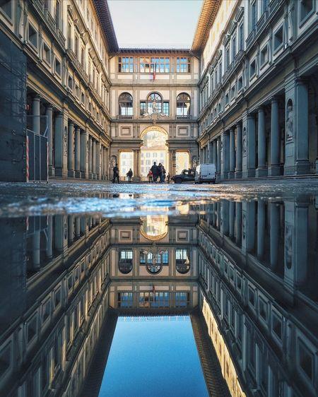 Symmetry. NEM Architecture NEM Street Reflection Symmetry Showcase March