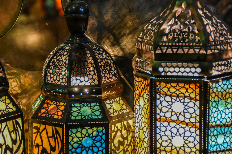 Arabic Style Close-up Cultures Day Dome Indoors  Lamp No People Pattern