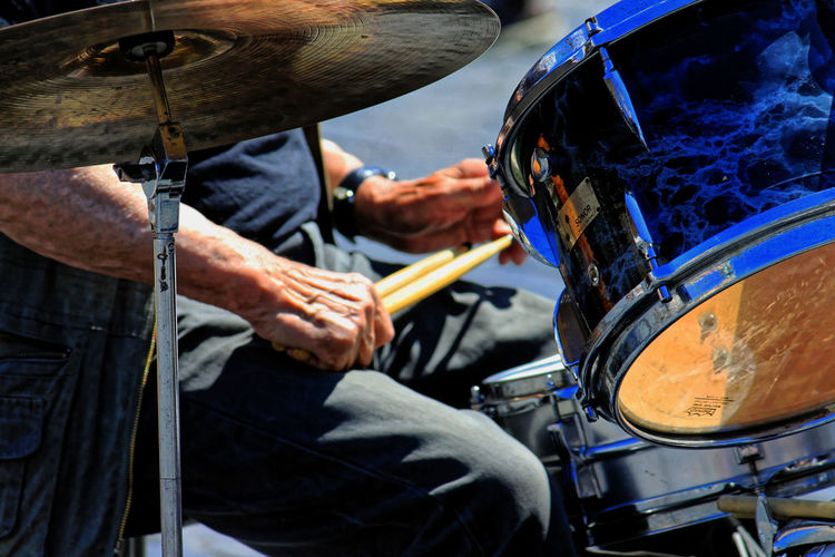 No matter what age... Keep drumming friend.... Drummer Drums Drumming Music Musician Live Music Hand Aged Feel The Journey