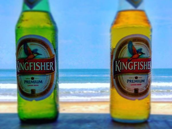 Beer , Beach and Bestfriends is proof that god loves us and wants us to be Happy . Kingfisher Kingofgoodtimes KF Kingfisherbeer Kingfisherworld