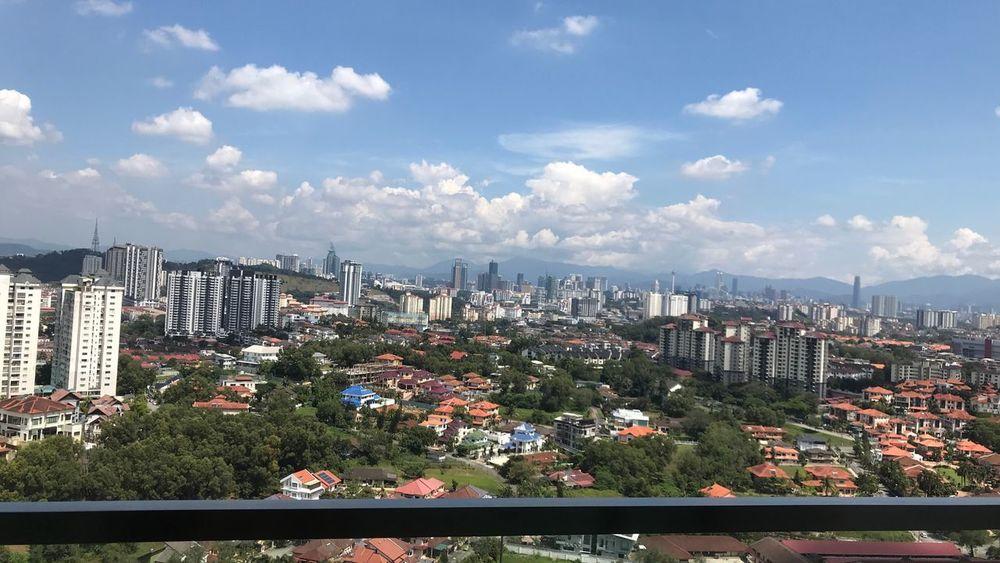 Justshoot No People Cloud - Sky City