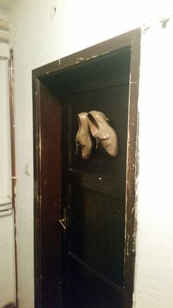 Hanging Out At The Bar Door Toilet Shoes