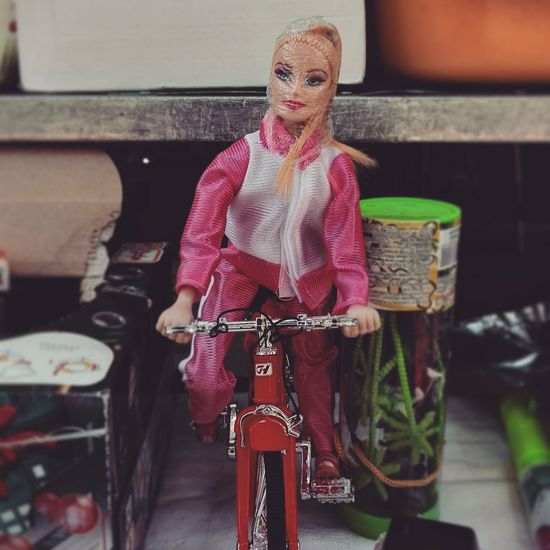 Barbie Girl Plastic Bag Life In Plastic