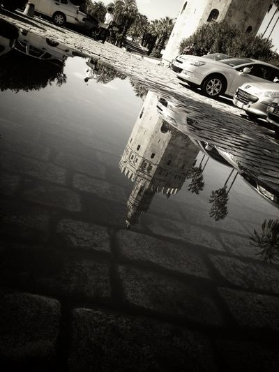 Streetphotography Puddleography Streetphoto_bw