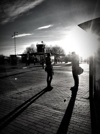 Gothenburg Light And Shadows Street Photography Black And White