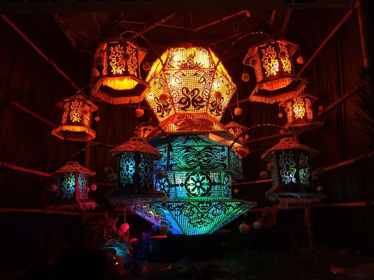 The Culture Of The Holidays Vesak Lantern Beautiful Colors Bright Darkness And Light EyeEm Best Shots Eye4photography  EyeEm Gallery EyeEm EyeEmBestPics EyeEm Sri Lanka Sri Lanka Balangoda IPhoneography