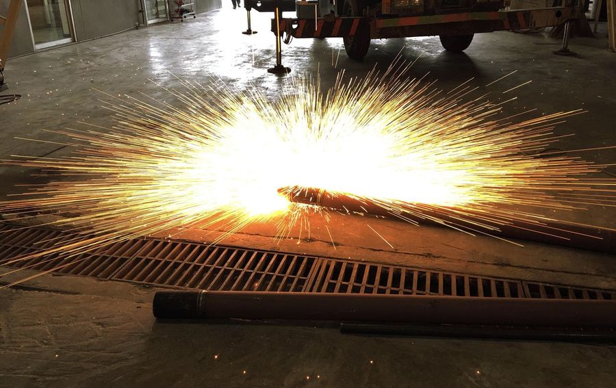 Welding fire light Welding Weldinglight Welding Work Light Lines Effect Light Falling Darkness And Light
