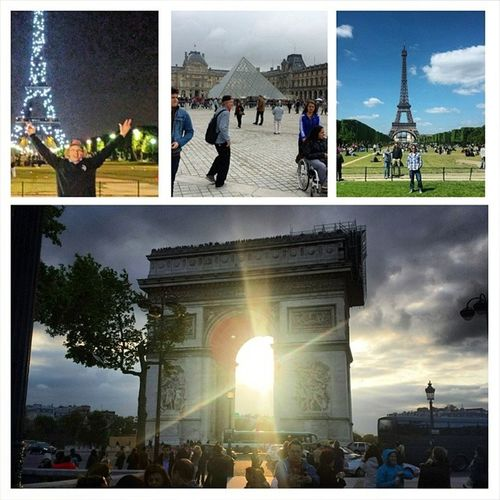 Parisbyday ParisByNight Thelouve Withmyhostelfamily arcdetrioumpheepicdayparismonumentsitsactuallyreal