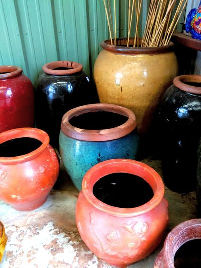 Pottery Pots Big Bold And Beautiful