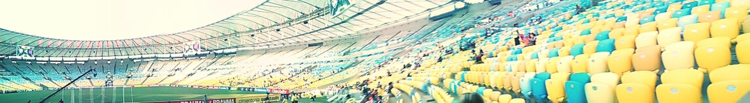 tipo segunda casa :3 Fluminense Football Club Goal Team Stadium