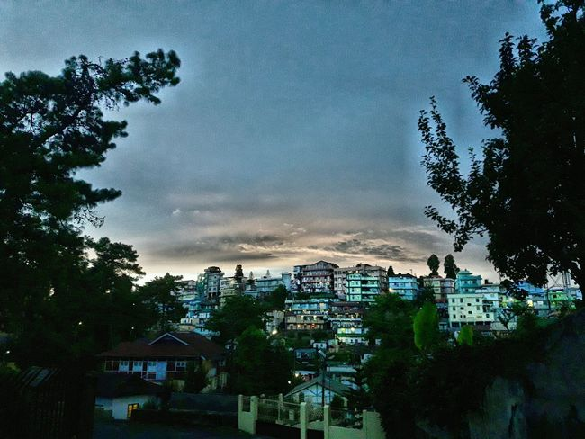 Outdoors Sky No People City Day Cloud - Sky The Street Photographer - 2017 EyeEm Awards Meghalaya Shillong