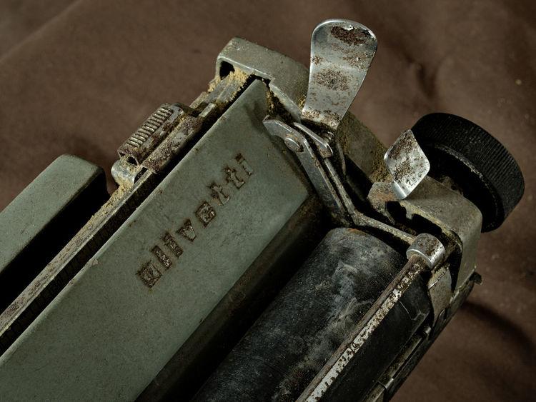 Communications Old Typewriter Olivetti Olivetti Typewriter Technology Text Vintage Technology Vintage Typewriter