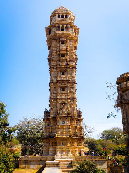 Ancient Ancient Civilization Architecture Archival Building Exterior Built Structure Chittorgarh Chittorgarh Fort Clear Sky Cultures Day History Low Angle View No People Old Ruin Outdoors Place Of Worship Religion Sky Travel Destinations