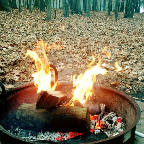 OpenEdit EyeEm Nature Lover Outdoors Fire Camping Nature Campfire