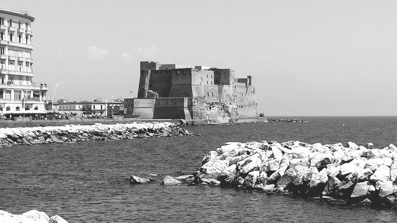 Panoramic Photography Panoramic Napoli Castel Dell'ovo Pamorami Golfo Di Napoli Campania Mare Nuvole Napoli Italy