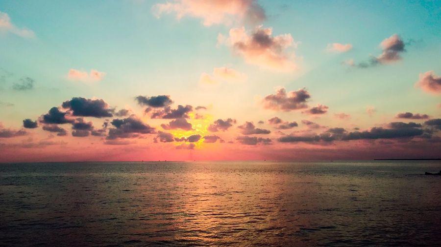 Sea Sunrise Apple Iphone6 Egypt Raselbar First Eyeem Photo
