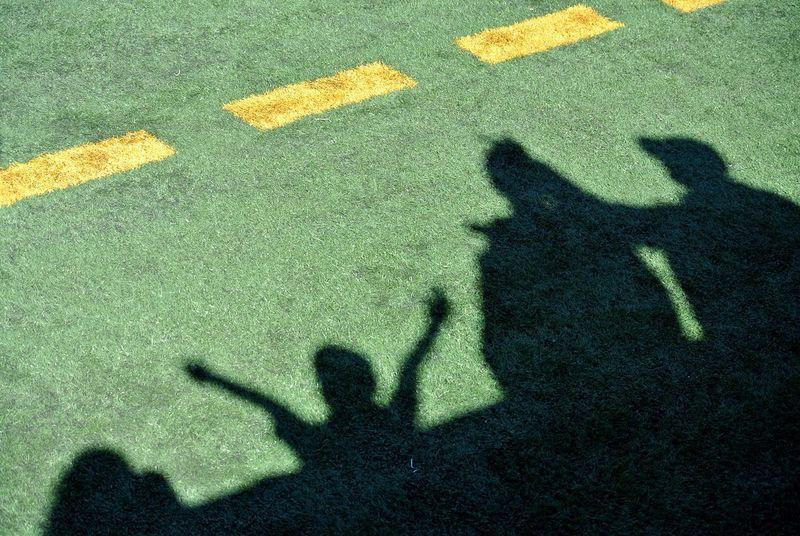 The Color Of Sport Football Sports Photography Football Fever Football Field Football Fans Football Season Football Stadium Fans Cheer Turf Shadows Shadow And Light
