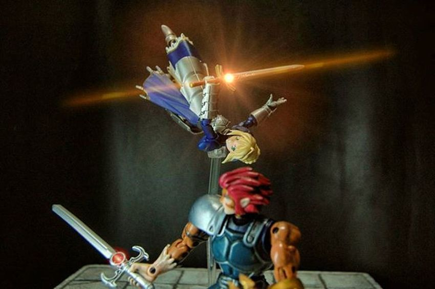 Lion against Lion Figma Saber Liono