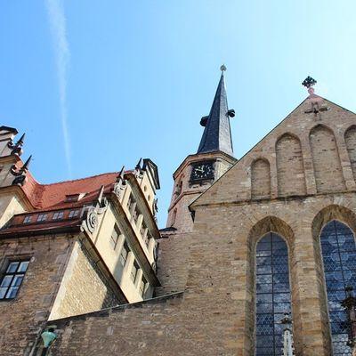 Merseburgerdom Merseburg Schloss Dom