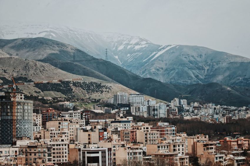Middle East Nature Population Crowded Architecture Tehran Building Exterior OpenEdit Open Edit EyeEm Architecture Mountain Building Exterior Built Structure City Building Residential District Mountain Range No People Day Nature Cityscape High Angle View Town House Outdoors Snow Sky TOWNSCAPE Snowcapped Mountain