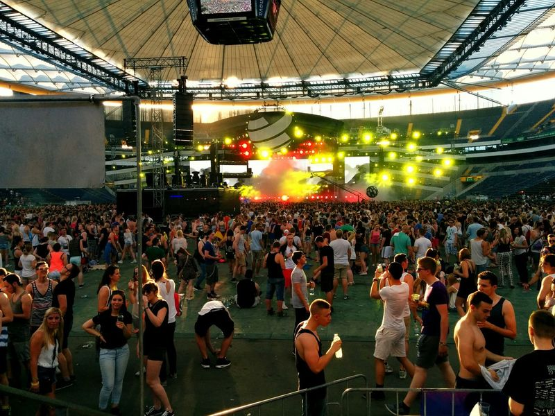 World Club Dome Commerzbank Arena Festival Steve Angello Electronic