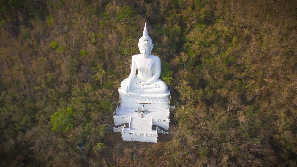 Relaxing Hello World Photography EyeEm Mountain Geen Thailand Travel Dronephotography Drones Drone  Hi! Buddha
