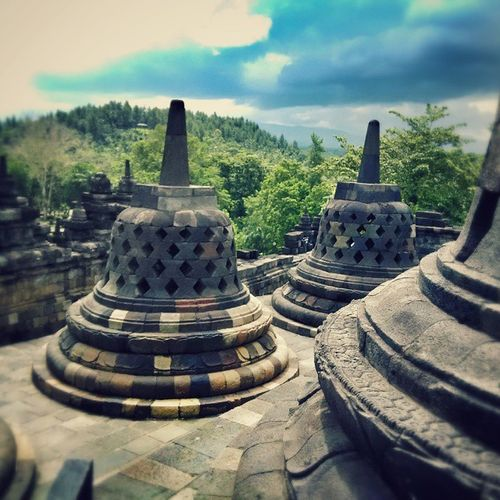 Borobudur Borobudur Temple Temple Seven Seven Wonders Seven Wonders Of The World