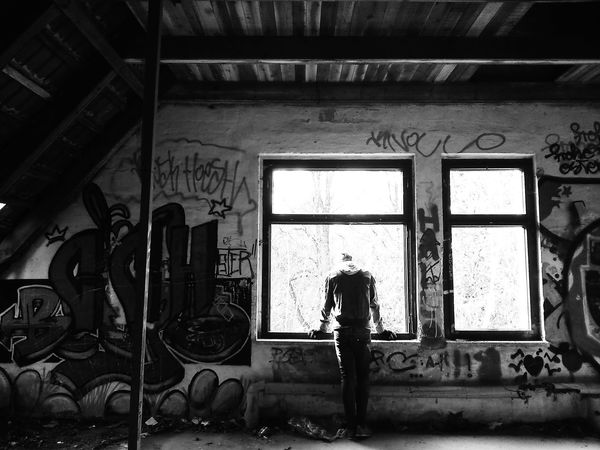 little photowalk with my boyfriend. Urbex Blackandwhite