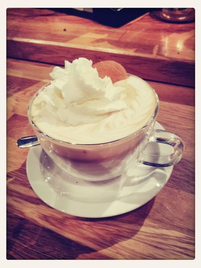 New seasonal drink at WH, the Cosby Classic. It's really spectacular, I promise. Coffee Cosby Espresso Real Banana
