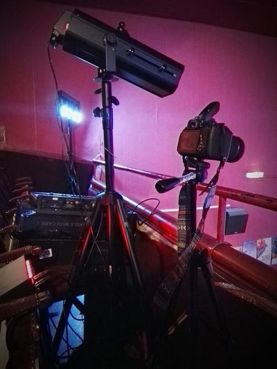 Illuminated Arts Culture And Entertainment No People Technology Night Lighting Equipment Red Appareil Photo Vintage Fauteuils Red Theatre Cinema Ciné Lampes Indoors  Modern Workplace Culture