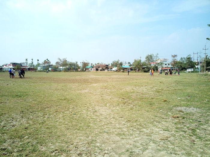 Football ground First Eyeem Photo