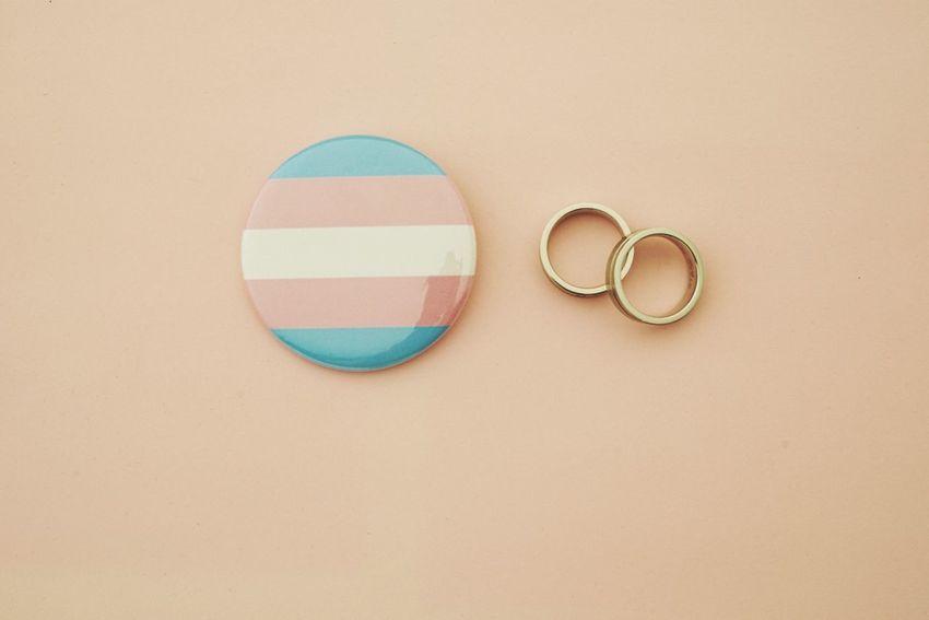 EyeEm Selects Circle No People Copy Space Indoors  Close-up Pink Gay Gay Pride Lesbian Wedding Wedding Rings Gay Love Gay Rights Gay Marriage  Schwül  Homosexual Gay Marriage  Gay Wedding Button