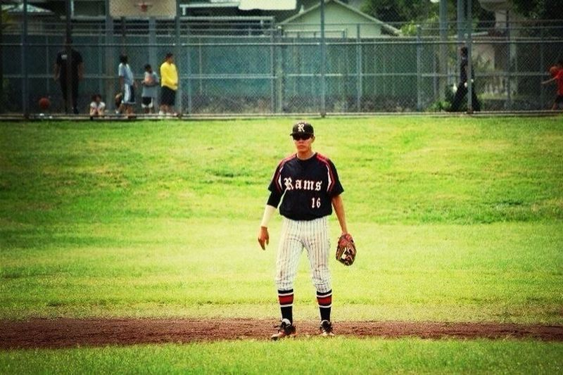 It's all about looking back at high school baseball
