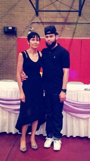 My mom big birthday