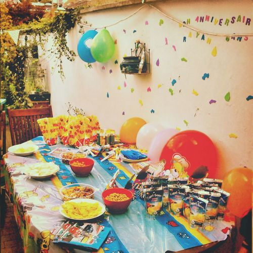 Bdaysurprise Rayan Dinguerie Fiesta