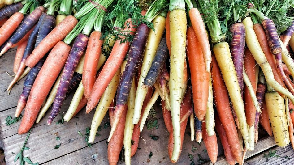 Vegetable Carrots Farmers Market