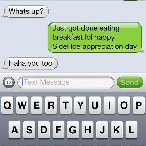 Happ Side Hoe Appriciation Day