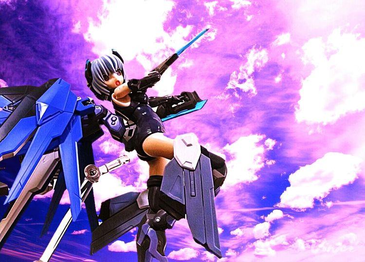 Frame Arms Girl Mecha Hresvelgr Sky Actionfigures