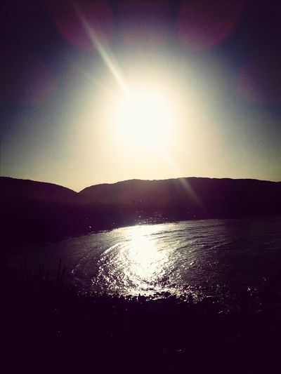 Bom final de tarde! Dia lindo!!! Sunset GoodVibration Relaxing
