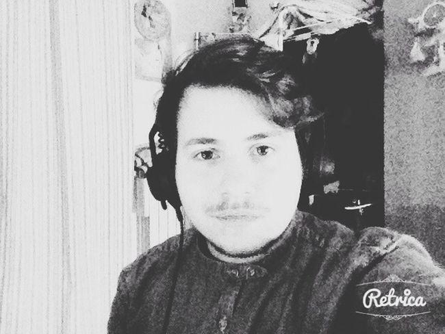 Me :)  Recording Session Selfie Production
