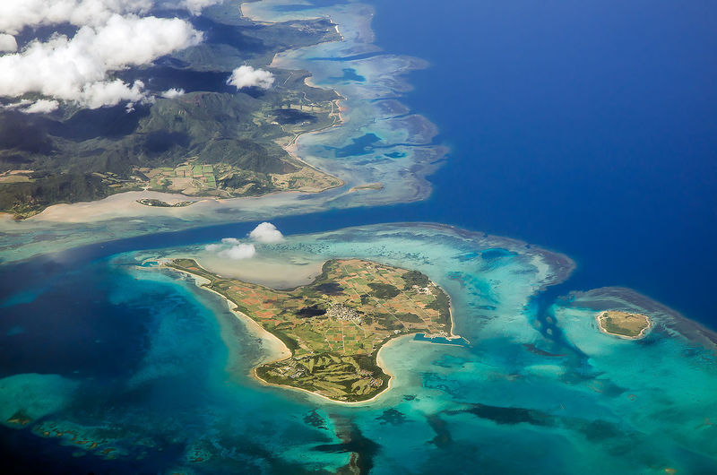 Ultimate Japan Flight Flight ✈ Flights Flightview Flight View Island Islands Island View  Kohama Island , Okinawa , Japan