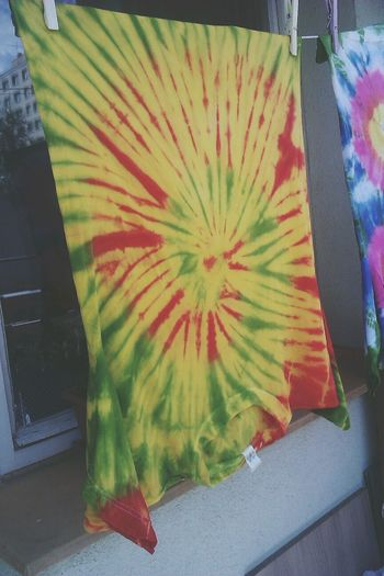 RASTA Tie Dye T-shirt Colors