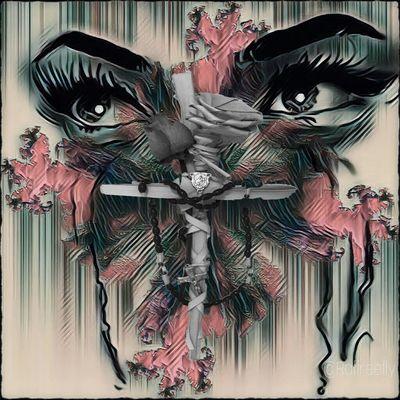 Immagination... by ©Raffreefly Raffreefly Art Artedigitale Artemoderna EyeEm Gallery EyeEmdigital Fantasy Manipulation Beauty Females Paper Art And Craft Close-up Modern Art Art Studio