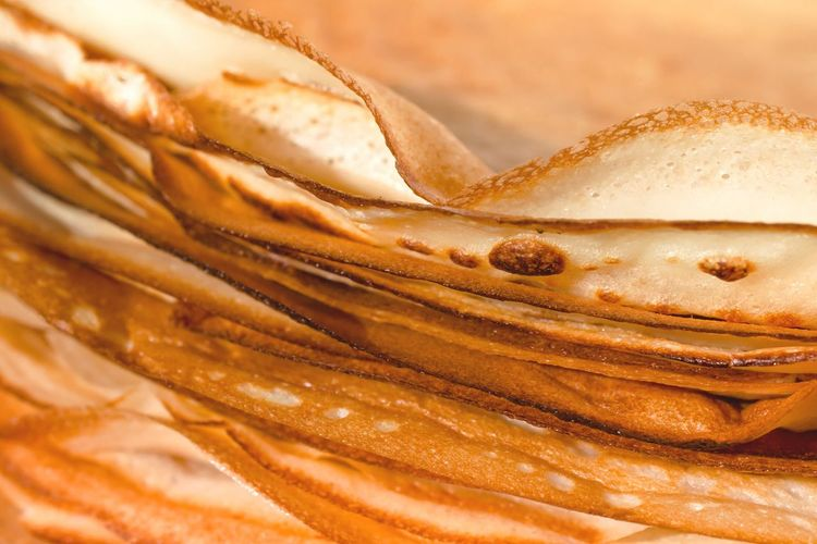 Close-Up Of Pancakes