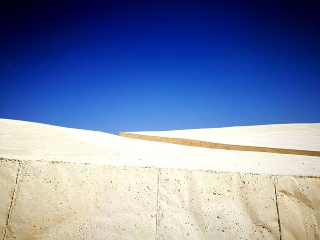 Cretto di Burri. Clear Sky Landscape Outdoors Art Is Everywhere Contemporary Art Burri The Week On EyeEm EyeEmNewHere Been There. Done That. Lost In The Landscape Connected By Travel Perspectives On Nature